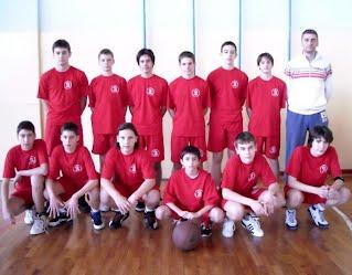 Прваци Бора у кошарци: наш школски тим